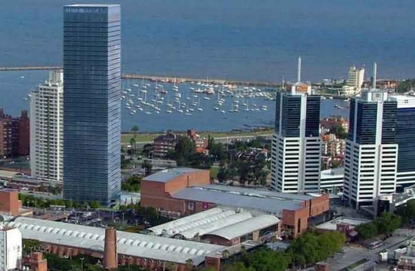 View of Montevideo, Uruguay  (photo credit: ISRAELI EMBASSY IN MONTEVIDEO)