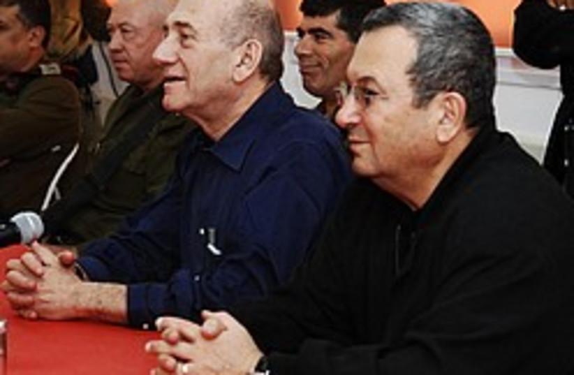olmert barak ashkenazi 248  (photo credit: IDF)