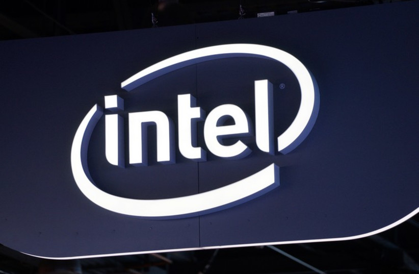 Intel sign  (photo credit: REUTERS)