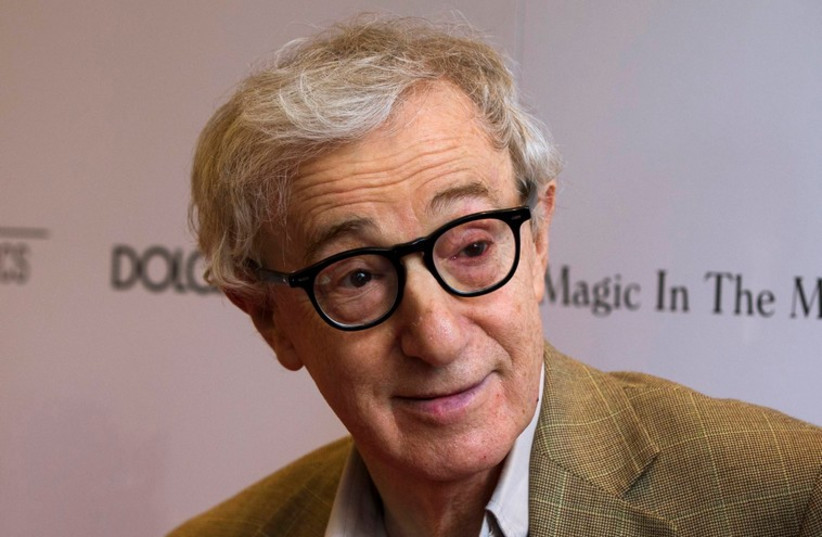 Woody Allen on July 17, 2014 (photo credit: REUTERS)