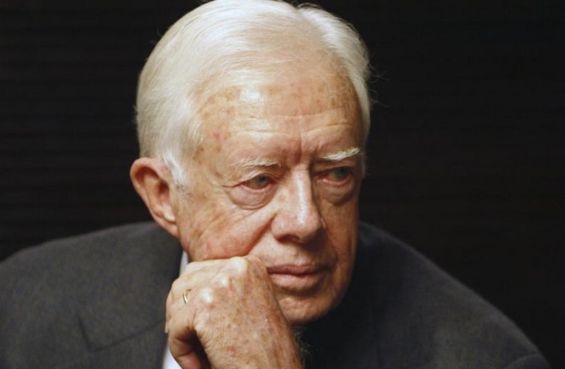 Former US president Jimmy Carter (photo credit: REUTERS)