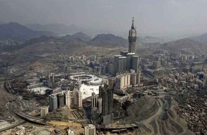 Mecca, Saudi Arabia (photo credit: REUTERS)