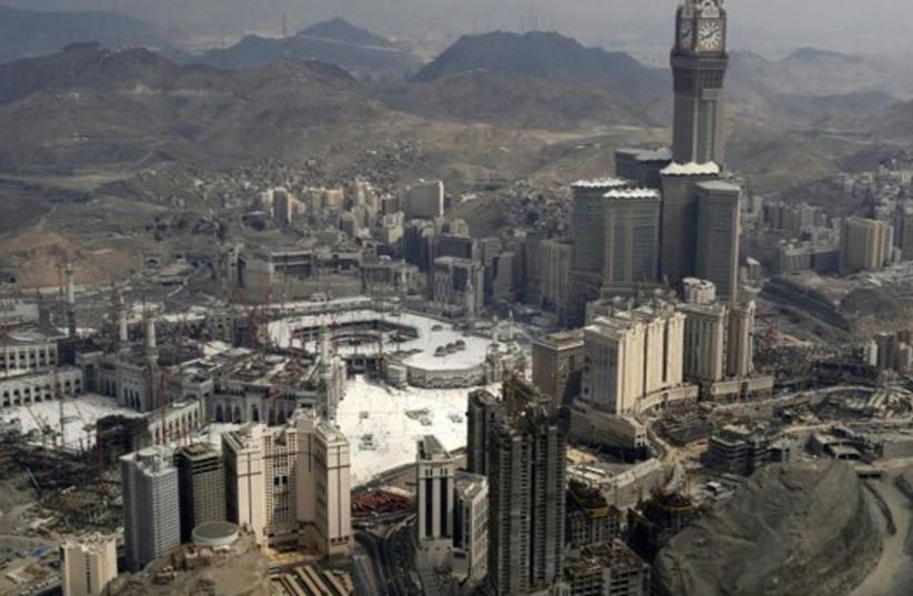 Mecca, Saudi Arabia (photo credit: REUTERS)