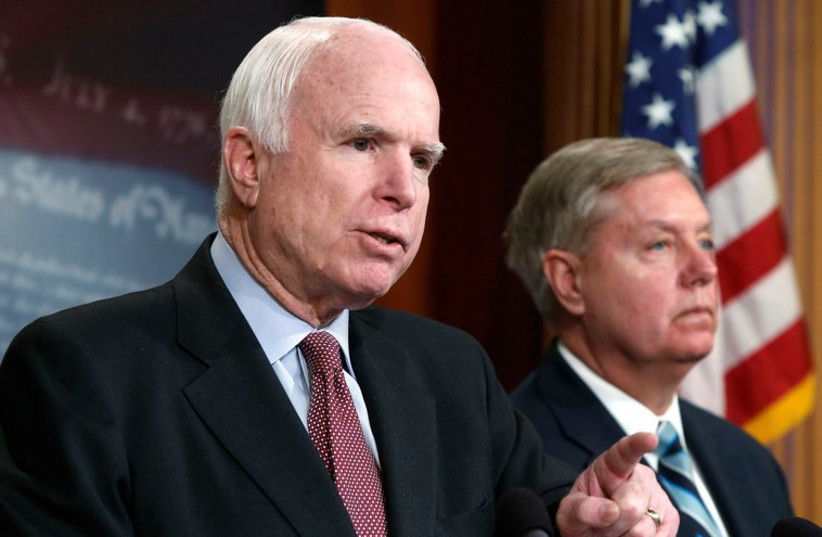 John McCain (photo credit: REUTERS)