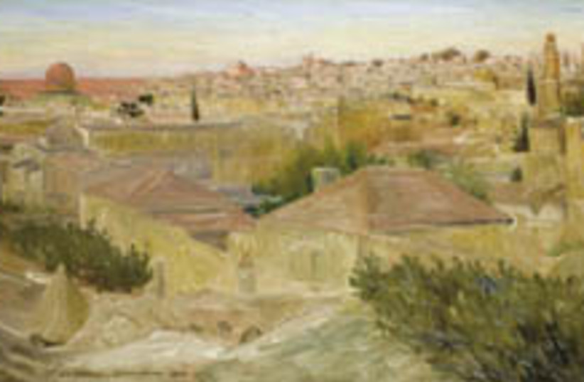 ludwig blum jerusalem painting 248 88 (photo credit: )