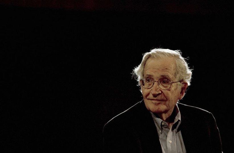 Noam Chomsky (photo credit: REUTERS)