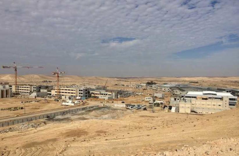 "Ir Habahadim, or the ""city of training bases,"" (photo credit: SHARON UDASIN)"