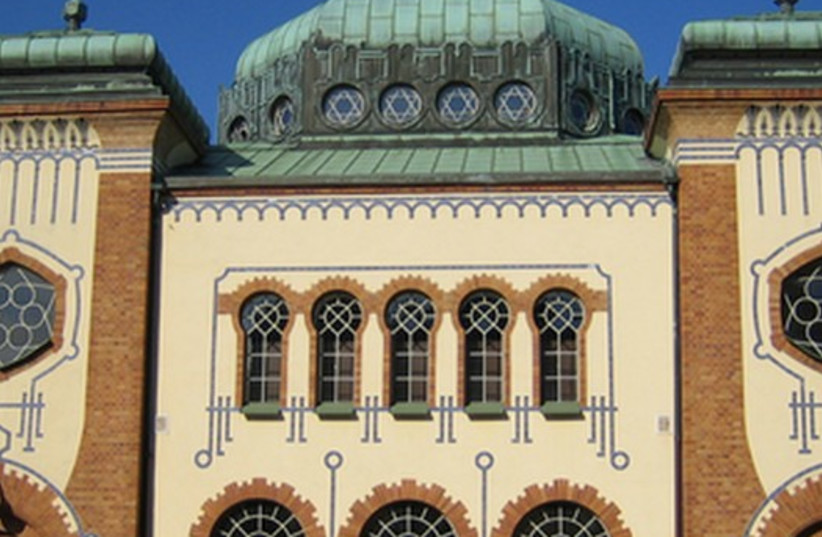 Malmo synagogue in Sweden. (photo credit: Wikimedia Commons)
