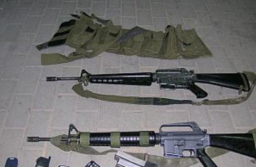 m16 298 idf  (photo credit: IDF)