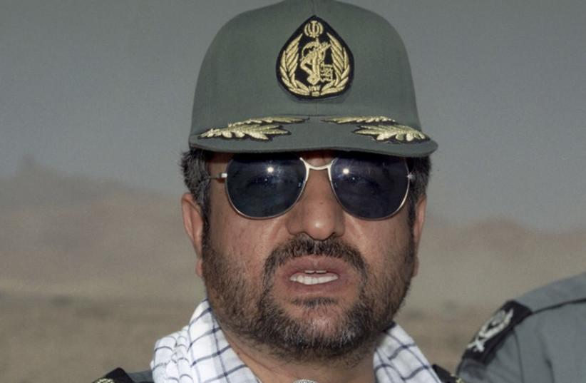 Mohammad Ali Jafari (photo credit: REUTERS)