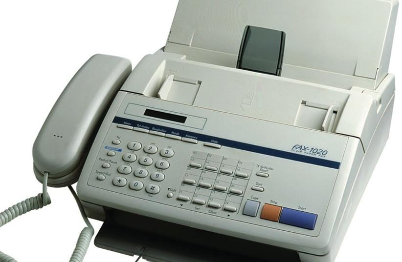 A fax machine (photo credit: INGIMAGE)