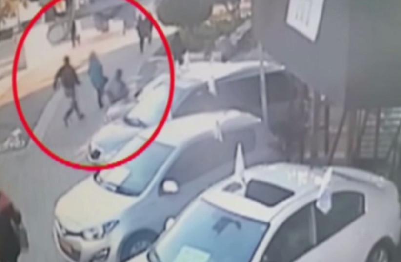 Footage of Tel Aviv terror attack (photo credit: CHANNEL 10)