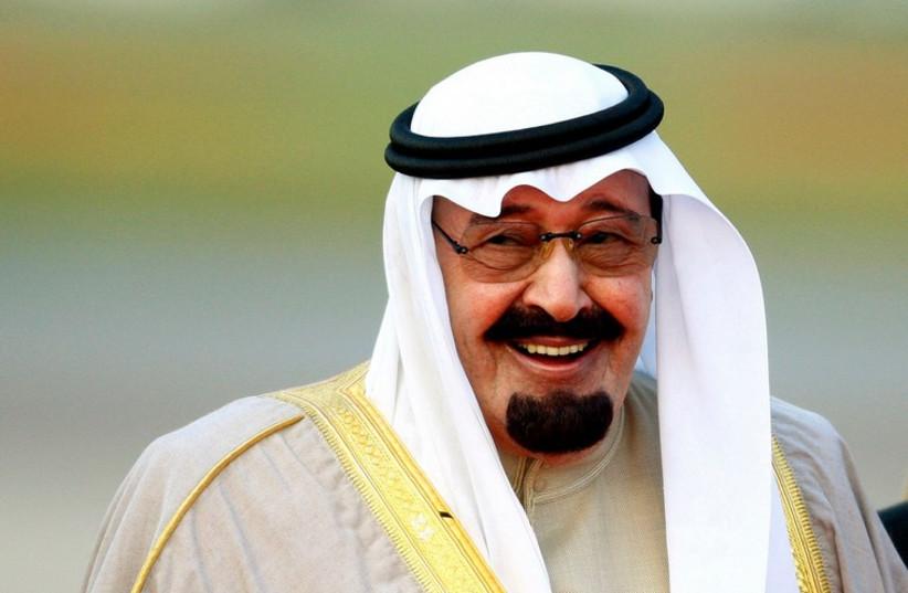Saudi Arabia's King Abdullah bin Abdulaziz (photo credit: REUTERS)