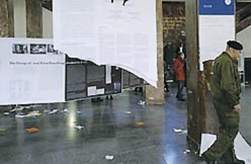 german ani nazi vandals uni 248 (photo credit: Aller-Zeitung)