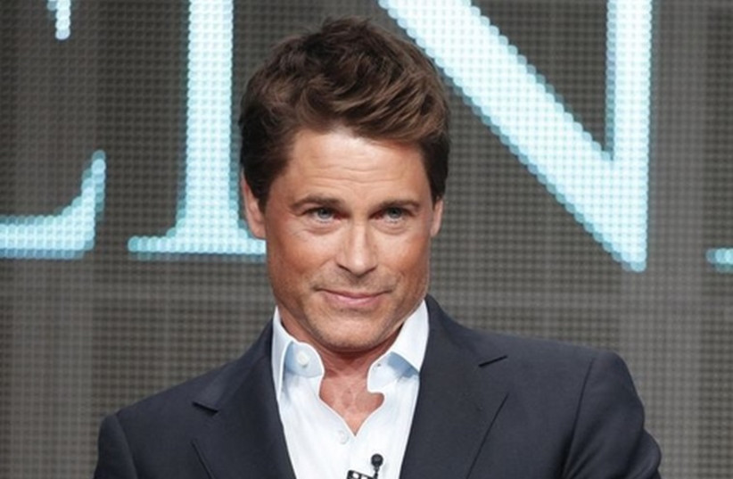 Actor Rob Lowe (photo credit: REUTERS)