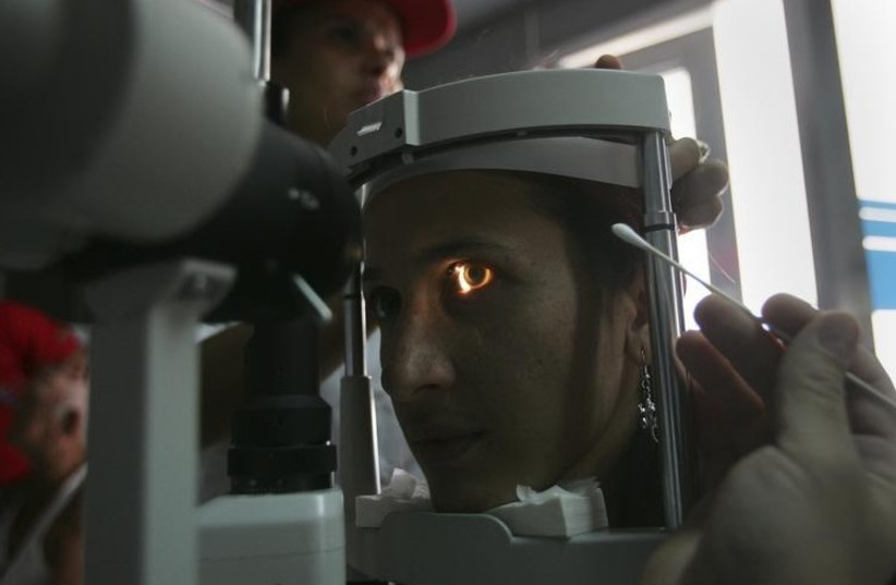 Eye exam [Illustrative] (photo credit: REUTERS)