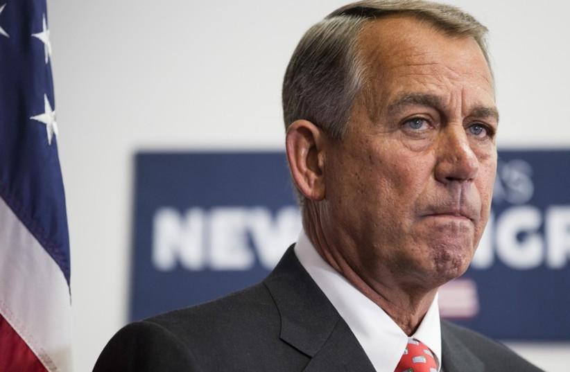 US Speaker of the House John Boehner (R-OH) (photo credit: REUTERS)
