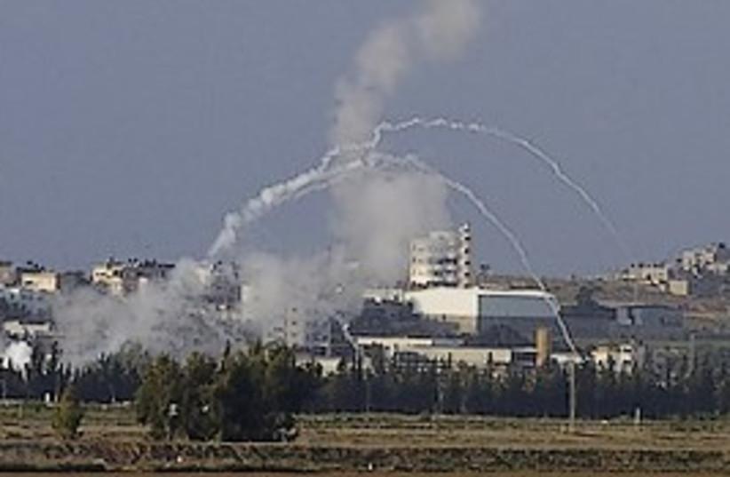 mortars from gaza hamas 298 (photo credit: AP [file])