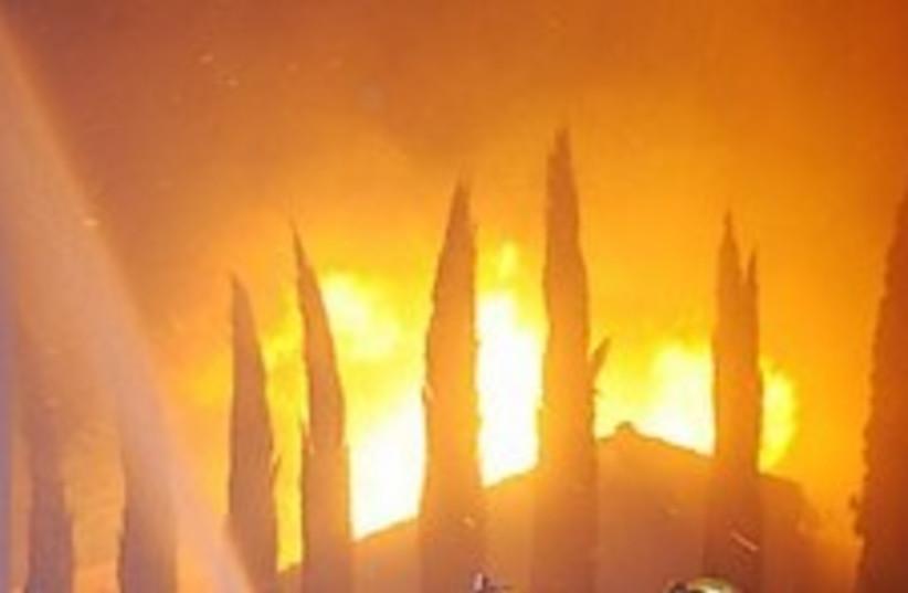 california fires 248.88 (photo credit: AP)