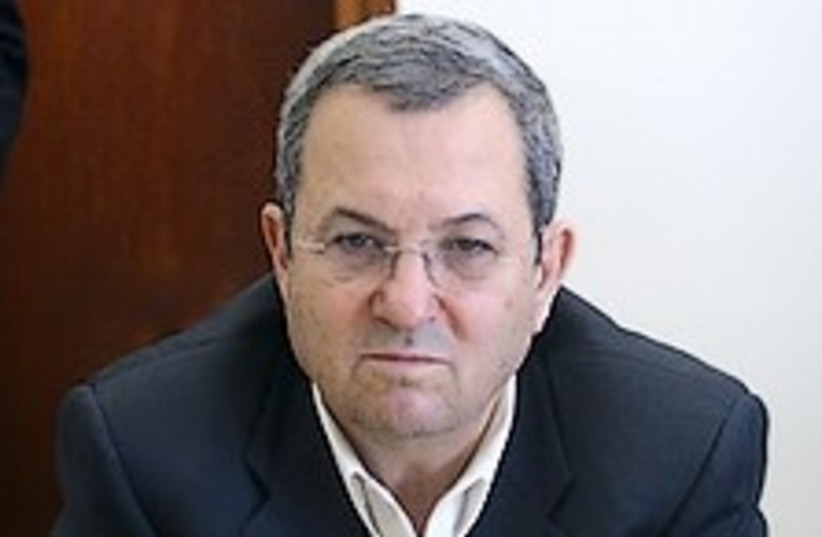 Barak Im gonna kill you 248.88 (photo credit: Ariel Jerozolimski [file])