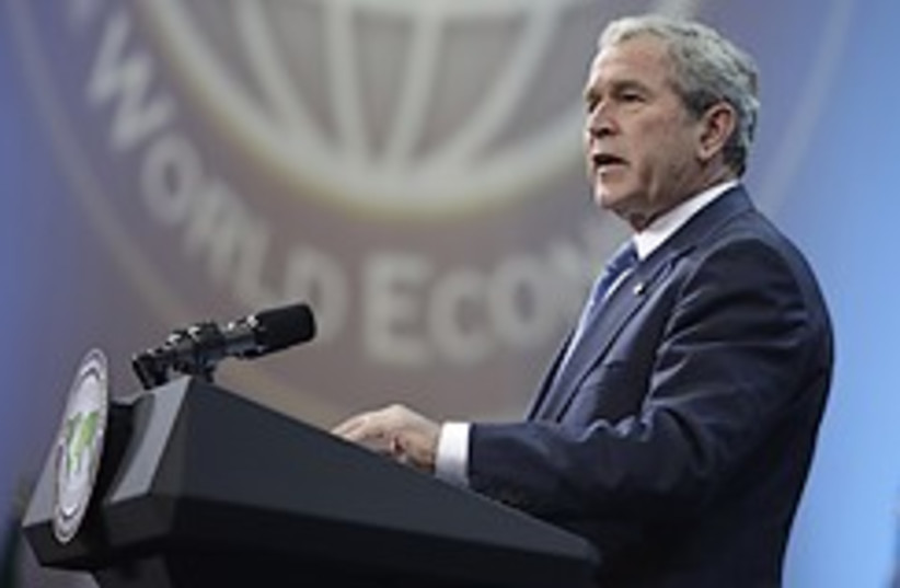bush economic summit 248.88 (photo credit: AP)