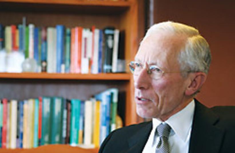 Stanley Fischer upclose 88 248 (photo credit: Ariel Jerozolimski [file])