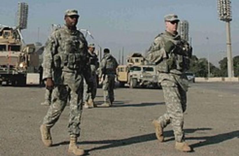us troops iraq 248.88 (photo credit: AP)