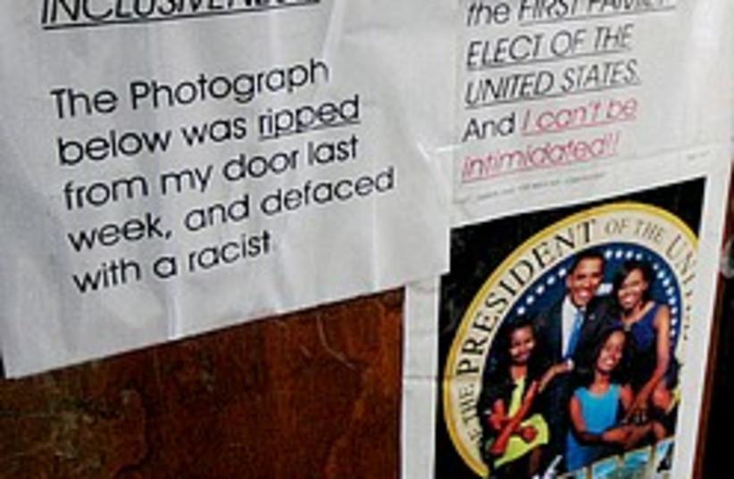 obama racism 248.88 (photo credit: AP)