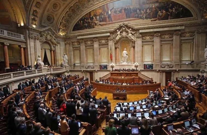 The Portuguese parliament in Lisbon (photo credit: REUTERS)