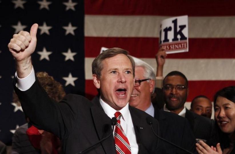 Senator Mark Kirk (R - Illinois) (photo credit: REUTERS)