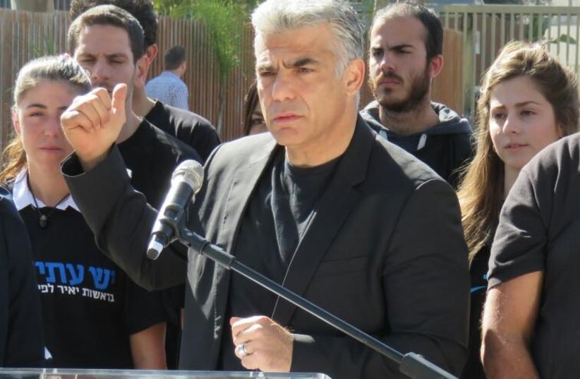 Yair Lapid, February 2, 2015 (photo credit: Courtesy)