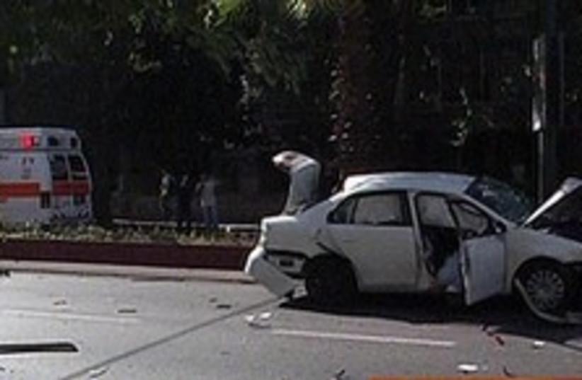 tel aviv car bomb mob hit mafia  248 88 (photo credit: Channel 10)