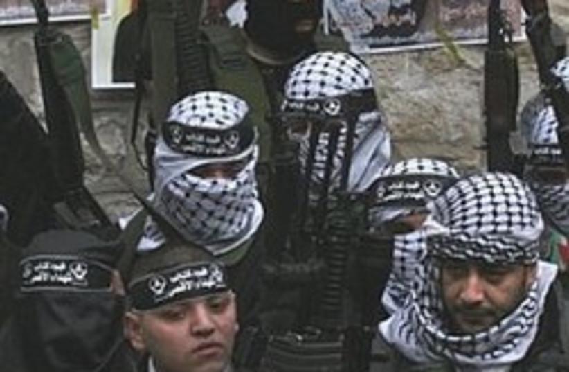 Al Aqsa Martyrs Brigade gunmen 248 88 (photo credit: 88)