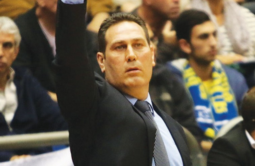 Maccabi Tel Aviv coach Guy Goodes (photo credit: ADI AVISHAI)