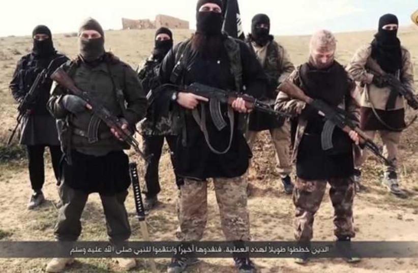 ISIS Warns of new Attacks  (photo credit: ARAB SOCIAL MEDIA)