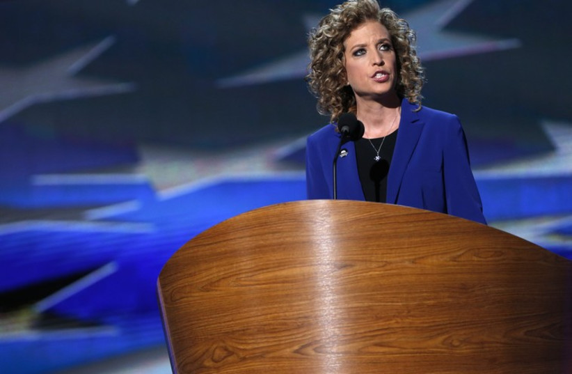 U.S. Rep. Debbie Wasserman Schultz (D-FL) (photo credit: REUTERS)