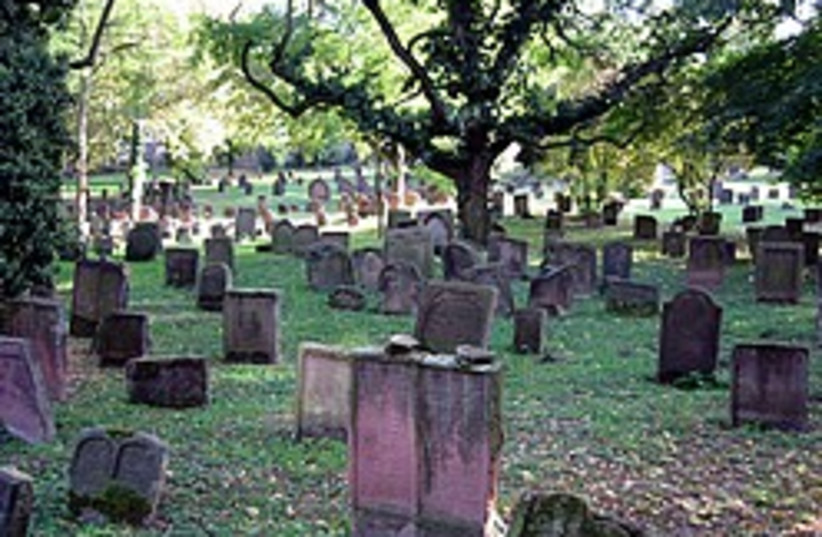 jewish cemetery germany 248 88 (photo credit: Courtesy)