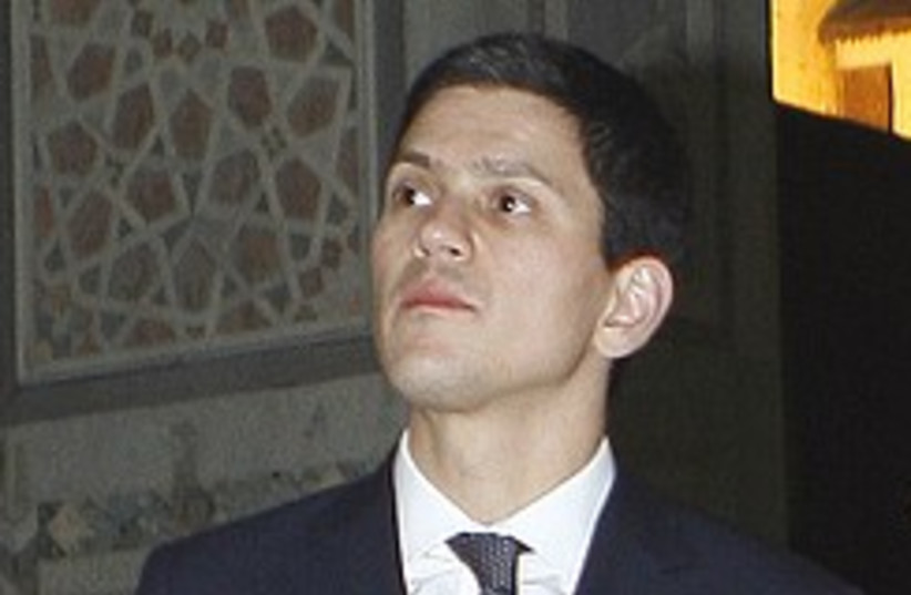 miliband syria 248.88 (photo credit: AP)