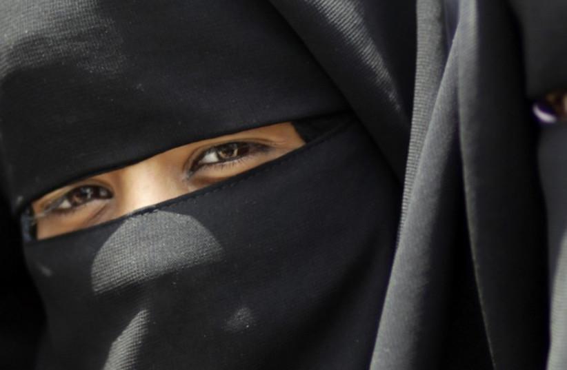 Muslim woman (illustrative). (photo credit: REUTERS)
