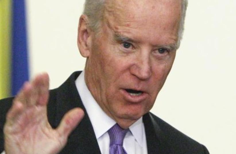 US Vice President Joe Biden (photo credit: REUTERS)