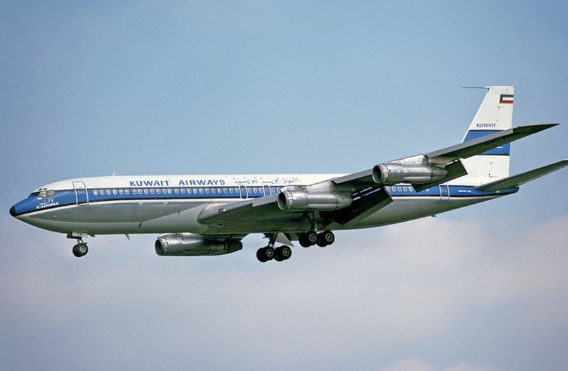 Kuwait Airways (photo credit: STEVE FITZGERALD/WIKIMEDIA)
