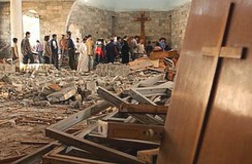 christians iraq 248.88 (photo credit: AP)