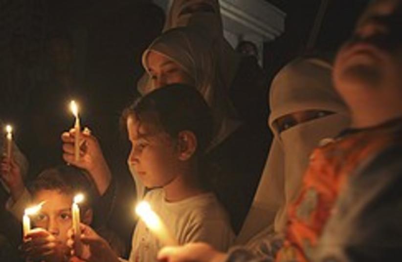 gaza black out 248.88 (photo credit: AP)