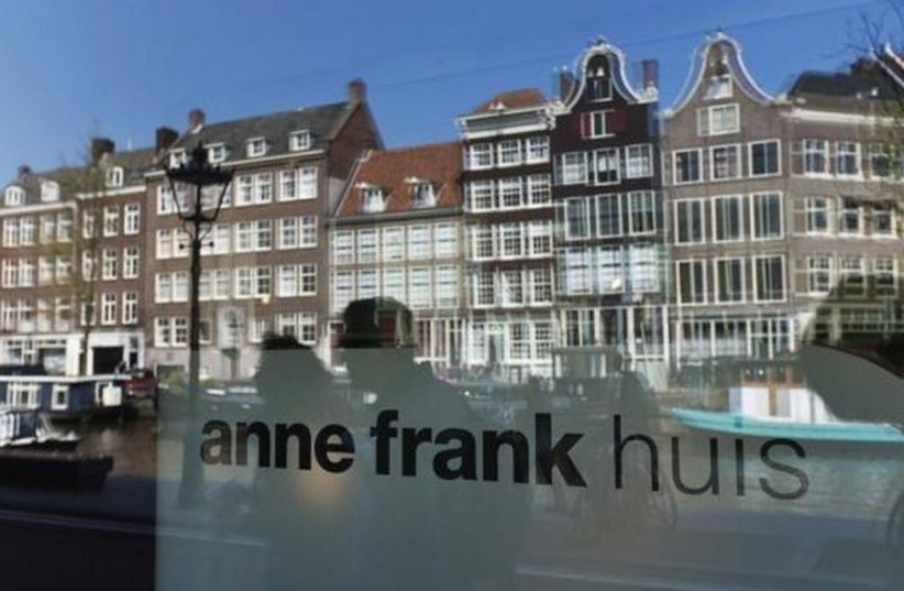 The Anne Frank museum in Amsterdam (photo credit: REUTERS)