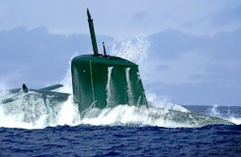Dolphin-class submarine 248.88 (photo credit: IDF )