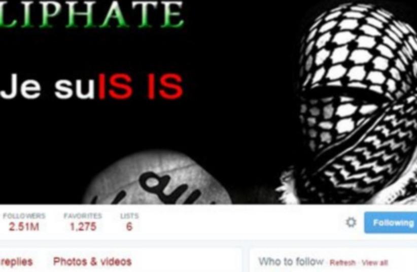 Hacked Newsweek Twitter account (photo credit: TWITTER)