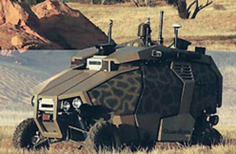 Elbit ground vehicle 88 248 (photo credit: Courtesy)