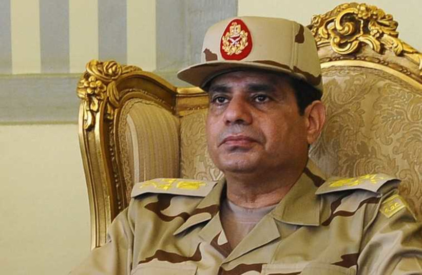 Abdul Fattah Sisi (photo credit: REUTERS)