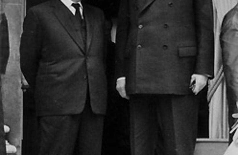 Ben Gurion de Gaulle 88 248 (photo credit: Jerusalem Post archives)