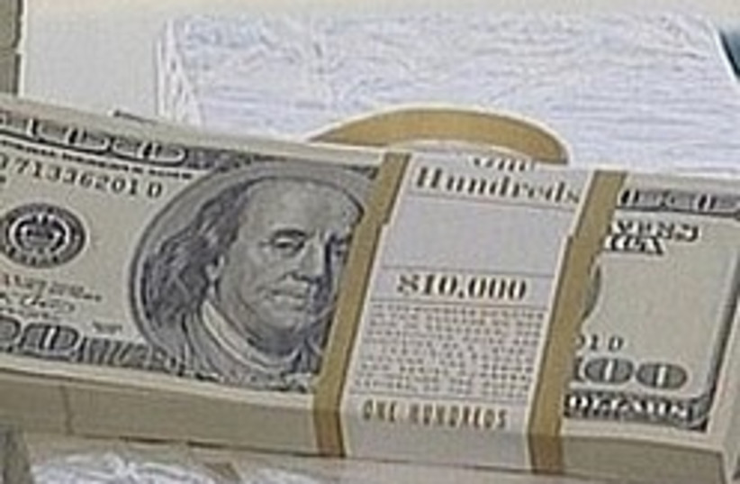 stack of dollars 248 88 (photo credit: Channel 10 [file])